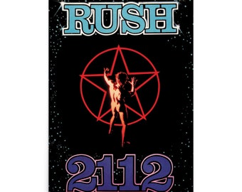 Rush 2112 18x24 Graphic Poster