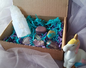 Unicorn Crystal Box