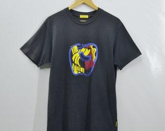 Roy Lichtenstein Shirt Roy Lichtenstein Apple Art Print Tee T Shirt Size M