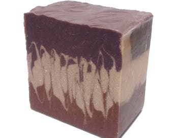 Coconut Cassis - Artisan Soap with Shea Butter and Cocoa Butter