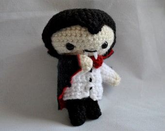Crochet Pattern- Little Baby Dracula- Amigurumi for Halloween