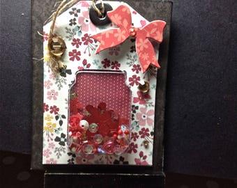Art Card, Shaker Card, Gift Tag, Home Decor