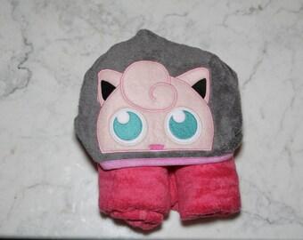 JigglyPuff Hooded Towel