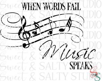when words fail music speaks digital file