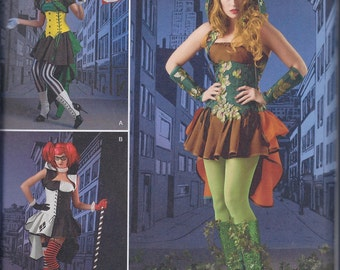Simplicity 1091 Misses Cos Play Costumes UNCUT Sewing Pattern