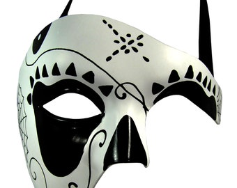Day of the Dead Web Masquerade Mask