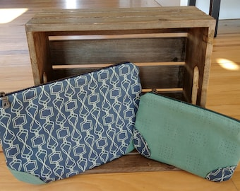 Fabric Pouch Set