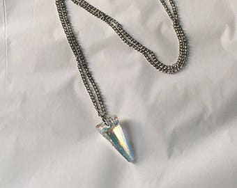 Crystal Spike Necklace • Swarovski Crystal Spike Necklace • Swarovski Crystal Necklace • Crystal Necklace