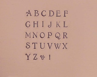 Circinus 3mm Uppercase Alphabet Letter Metal Stamp Set Jewelry Stamping The Urban Beader