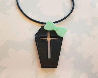 Pastel Coffin Necklace