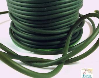 1 m rubber khaki diameter 4mm (fil65)
