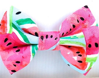 Watermelon Bow Tie Dogs Dog Bow Tie Summer Bow Tie Cats Bow Tie