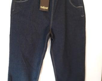 Capri jeans 1950s style vintage feel heavy duty denim