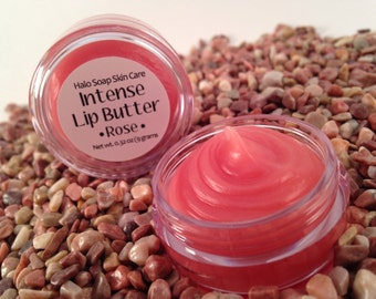 Rose Intense Lip Butter - 99% Natural