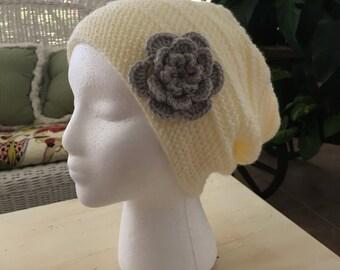 Shiplap Slouchy Crochet Hat