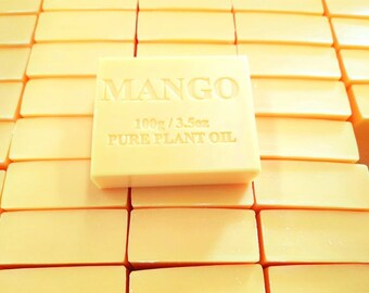 100 x Soap Bars Mango 100g