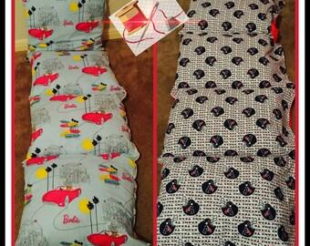 Personalized pillow mats