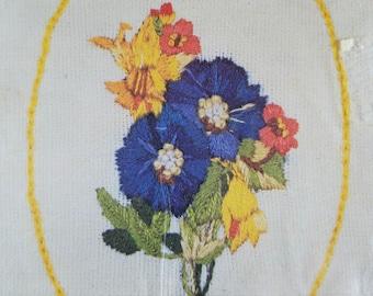 Crewel Kit Stoney Small Bouquet Nosegay