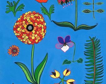 Flowers Print (8x10)
