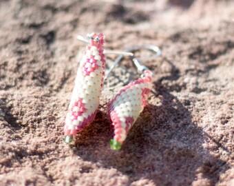 Glass beads Dangle Earrings for everyday