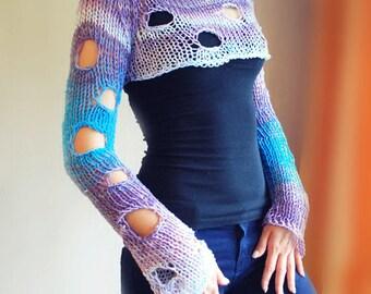 Knitting Pattern /  Crop Top Pattern / Knitting Crop Sweater Pattern / Summer Sweater Pattern / Knitting Sweater pattern