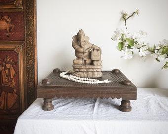 Wooden Ganesha Harmonium Music of the Spheres Hand carved teak