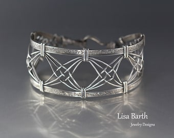 Criss Cross Woven Bracelet Tutorial