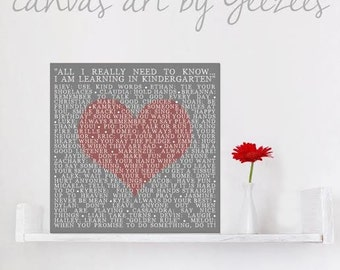 Personalized Gift For Hubby Your Wedding Pictures to Heart Canvas Art Personalized with Your Words Vows lyrics