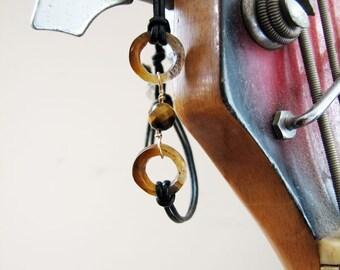 Tigresa Handcuffs Leather Bracelet