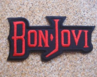 BON JOVI music PATCH badge