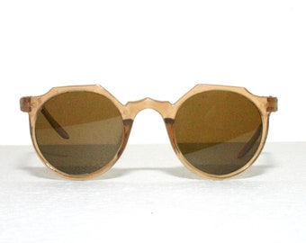 Sunglasses 30's 40's Round Lenses Plastic Frame Historical FREE SHIPPING Women Her She Gift Idea Small