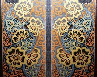 Henna Mehndi Paisley phone case cover