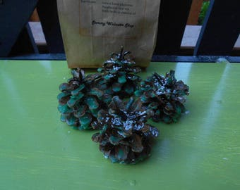 Natural Pine Cone Firestarters / Room Scenters / Wedding Favours