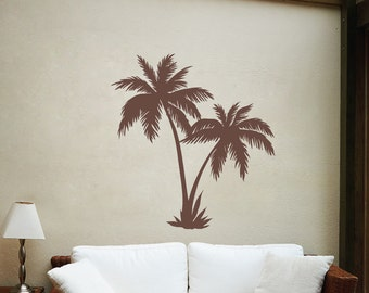 The Palms - Palm Trees - Vinyl Wall Decal