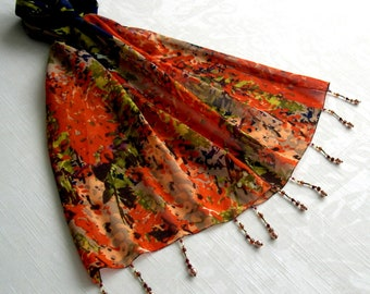 Scarf pin / scarf jewel REF. 064 - floral