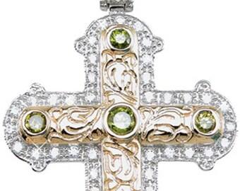 cross necklace cross pendant