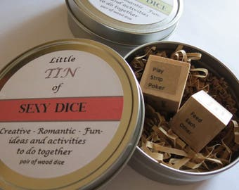 Date Night Jar, Romantic Gift, Honeymoon Gift, Bachelorette Party, Engagement Party, Gift for Husband, Engagement Gift, Date Dice, SEXY