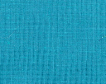 8 Precut 4 Inch Squares - Solid Turquoise Blue Cotton Fabric ~ 4 Scrap Quilting ~ Piecing ~ Fun Projects