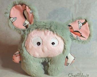 Plush soft mini-Bestiole by Chatfildroit