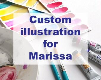 Custom Illustration for Marissa