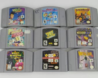 Pick and Choose from Nintendo 64 game lot!!