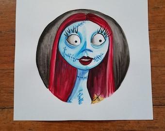 Sally the Nightmare before Christmas