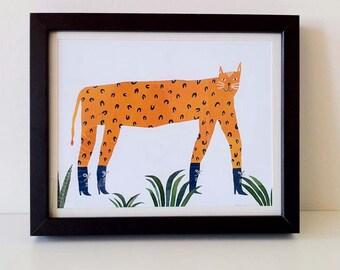 Sexy Leopard: Digital Print