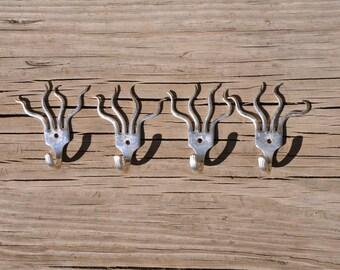 4 Mini Funky Fork Hooks