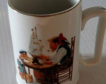 Norman Rockwell Mug