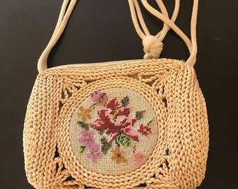 Ratten Handbag, Shoulder Bag, embroidery