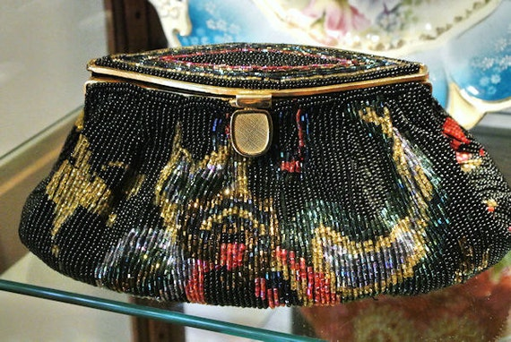 La Regale Beaded Handbag / Sequin Studio 18 Purse