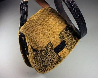 Ladies Shoulder Bag, Crossbody Bag,  Custom Pocketbook, Luxury Bag,  Fall Handbag, Leather Interior, Mother's Day Gift, Coin Purse Included