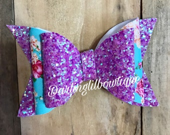 Pink/purple floral