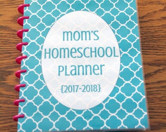UNDATED Homeschool Planner Printable in Classic or Large HAPPY PLANNER size! Instant Download